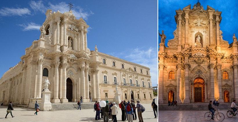 Кафедральный собор Сиракузы (Италия)