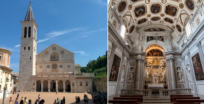 Сполетский собор (Санта-Мария-дель-Ассунта) в Италии