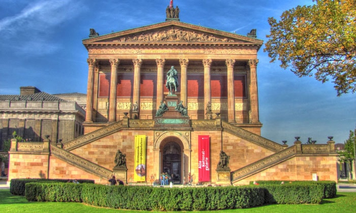 Старая национальная галерея Берлина