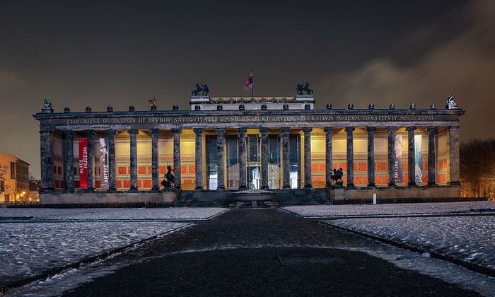 Старый (художественный) музей в Берлине