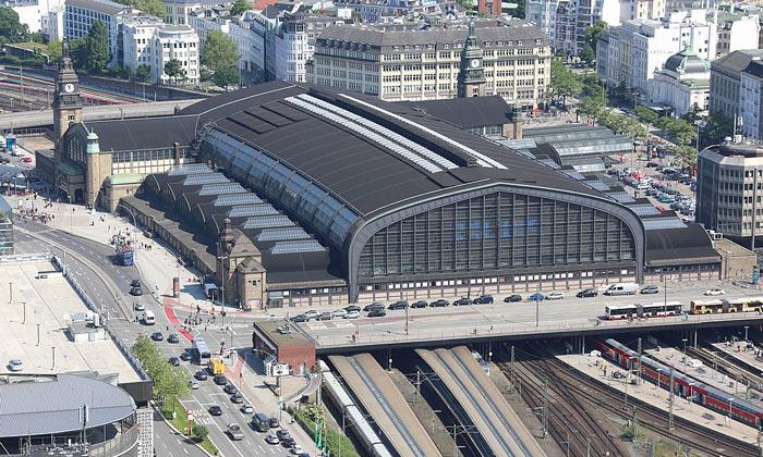 Железнодорожный вокзал Гамбурга