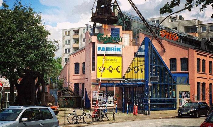 Заведение «Fabrik» в Гамбурге