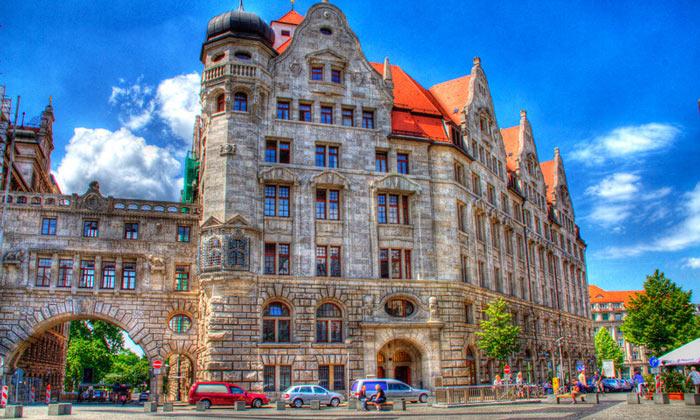 Архитектура Лейпцига
