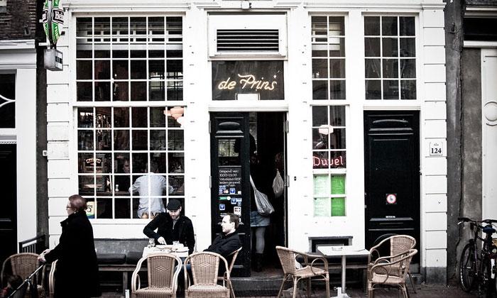 Бар De Prins в Амстердаме