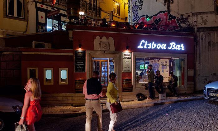 Бар Lisboa в Лиссабоне