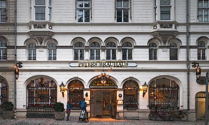 Бар «Peter's Brauhaus» в Кёльне