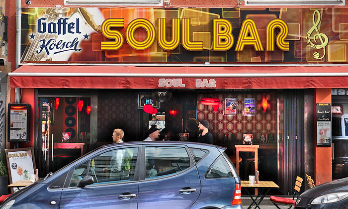 Бар Soul в Кёльне