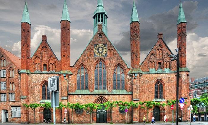 Больница Святого Духа в городе Любек (Германия)