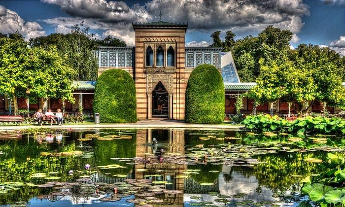 Ботанический сад Вильгельма в Штутгарте