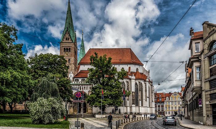 Аугсбургский собор Встречи Марии