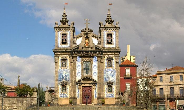 Церковь Святого Ильдефонсо в Порту