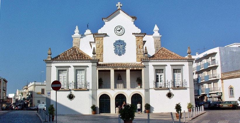 Церковь в Ольяне (Португалия)