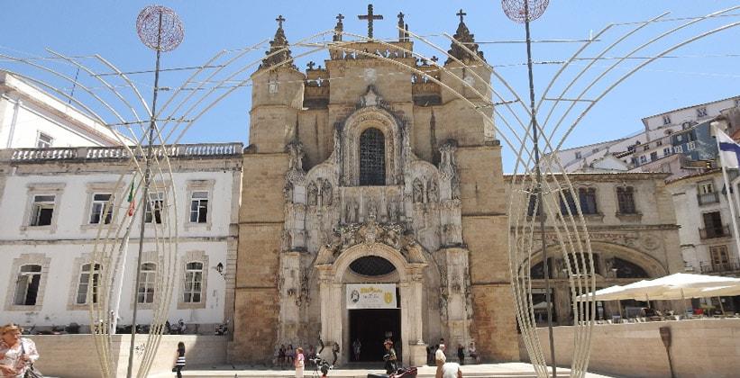 Церковь Святого Креста в Коимбре (Португалия)