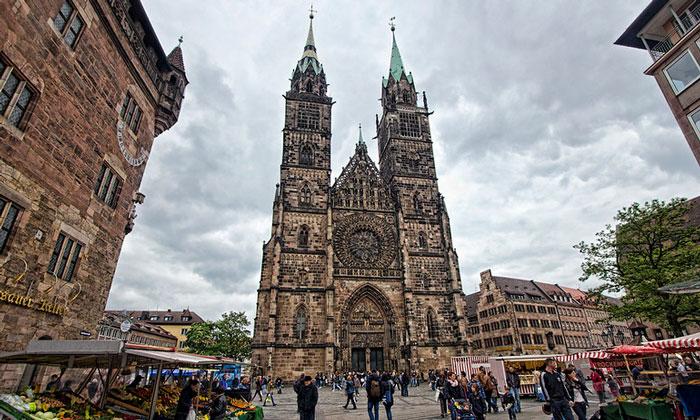 Церковь Святого Лаврентия в Нюрнберге