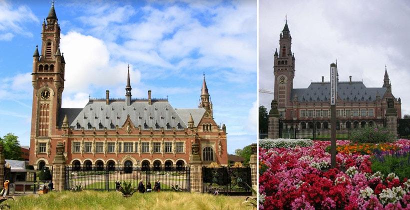 Дворец Мира в Гааге (Нидерланды)