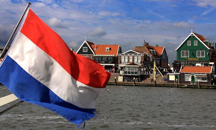 Флаг Нидерландов (Волендам)