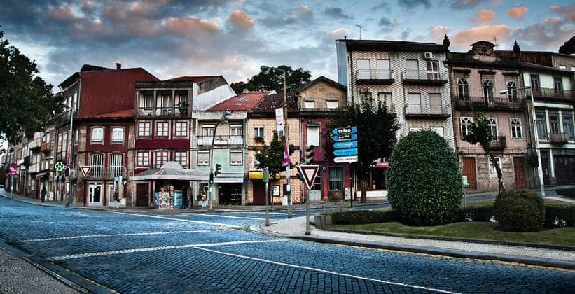 Город Брага в Португалии