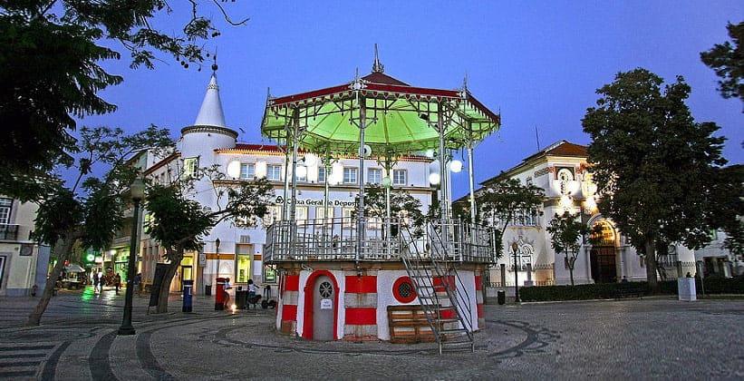 Город Фару в Португалии
