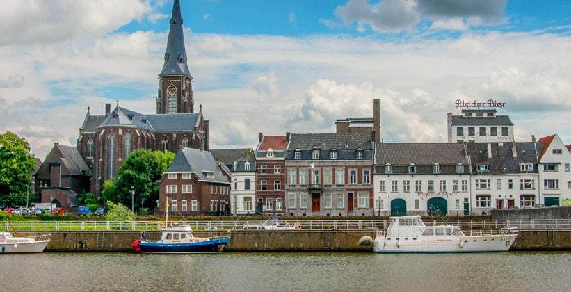 Город Маастрихт в Нидерландах