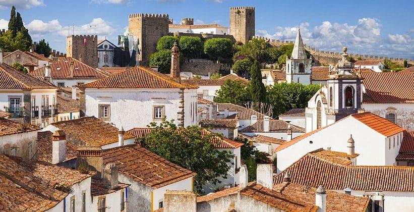 Город Обидуш в Португалии
