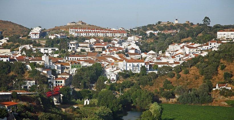 Город Одемира в Португалии