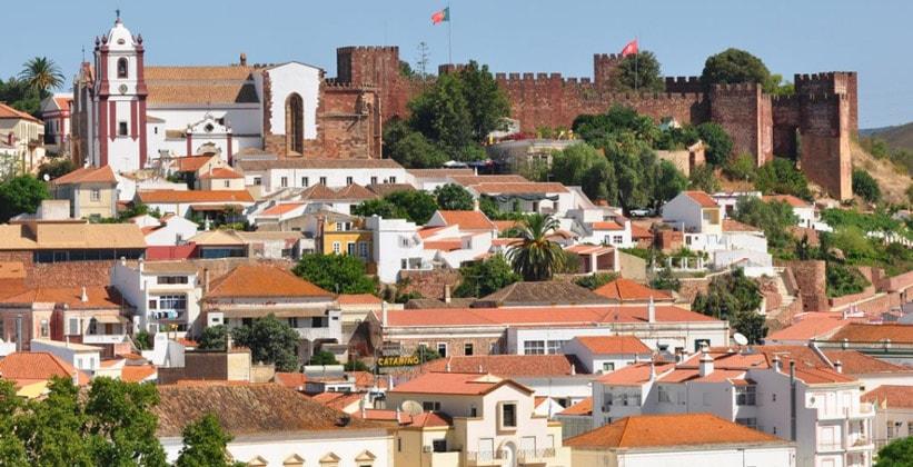 Город Силвиш в Португалии