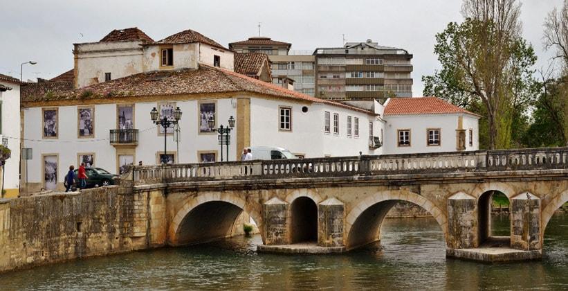 Город Томар в Португалии