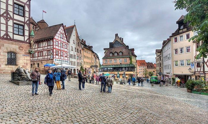 Историческая часть Нюрнберга