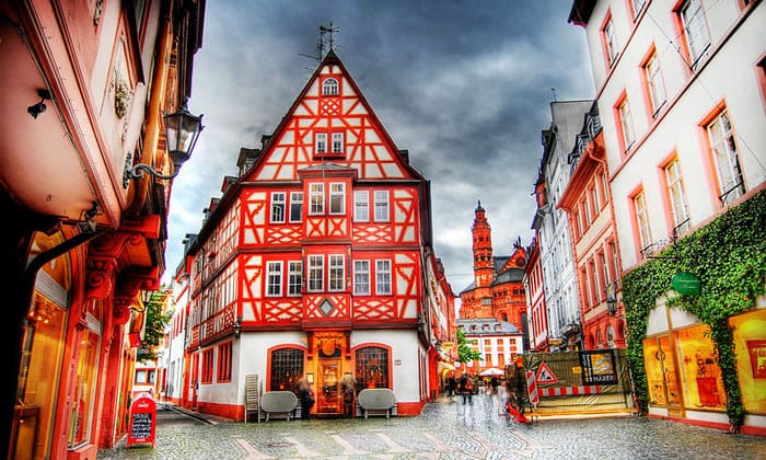 Исторические здания Майнца