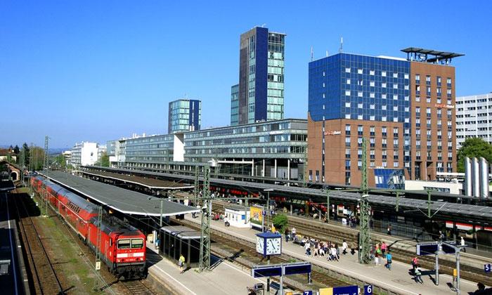 Железнодорожный вокзал Фрайбурга