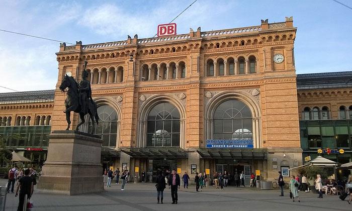 Железнодорожный вокзал Ганновера