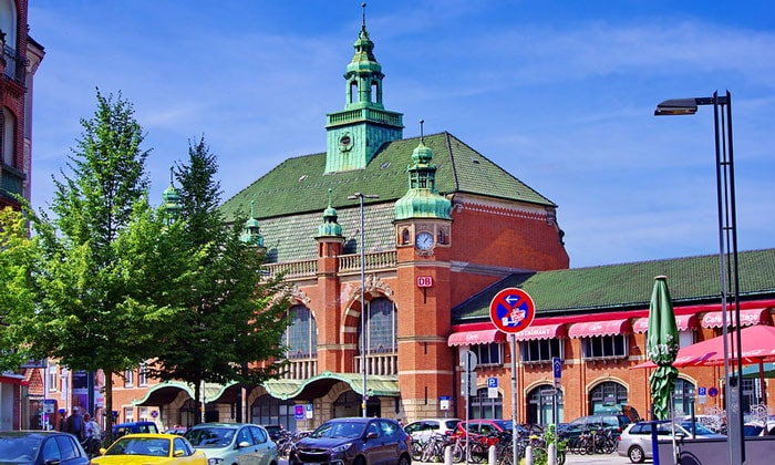 Железнодорожный вокзал Любека