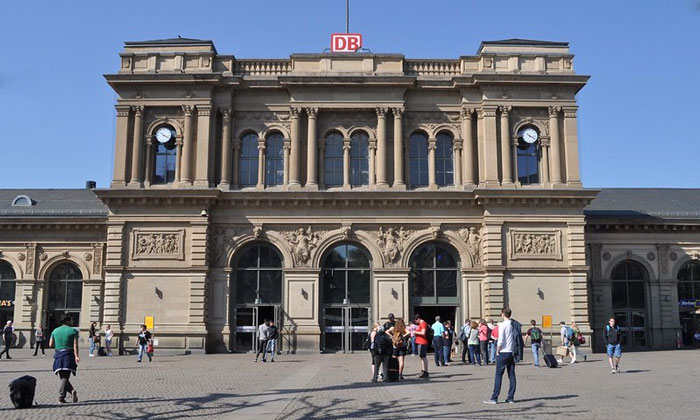 Железнодорожный вокзал Майнца