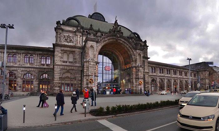 Железнодорожный вокзал Нюрнберга