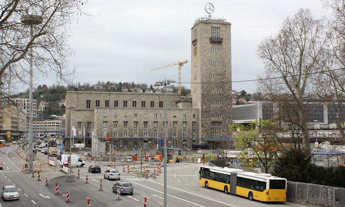 Железнодорожный вокзал Штутгарта