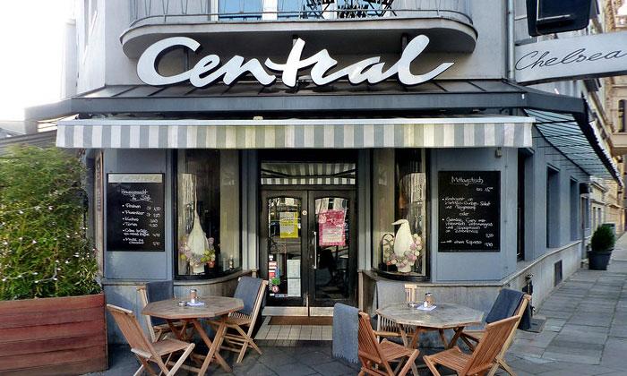 Кафе «Central» в Кёльне