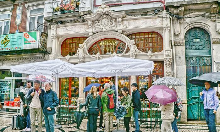 Кафе «Majestic» в Порту