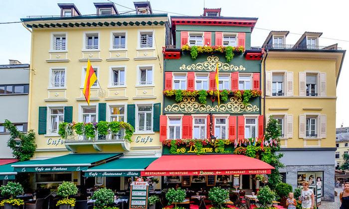 Кафе Rathaus и ресторан Laterne в Баден-Бадене