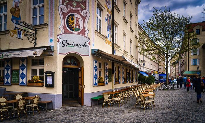 Кафе Speisecafe в Мюнхене