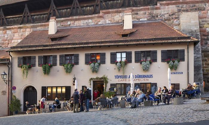 Кафе Topferei am Durerhaus в Нюрнберге