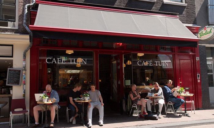 Кафе Tuin в Амстердаме
