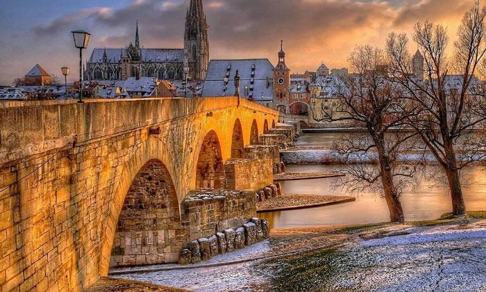 Каменный мост Регенсбурга