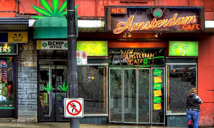 Кофейня New Amsterdam
