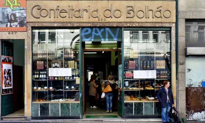 Кондитерская «Confeitaria do Bolhao» в Порту