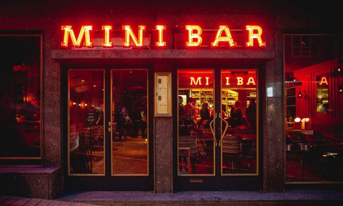 Бар «Mini» в Порту