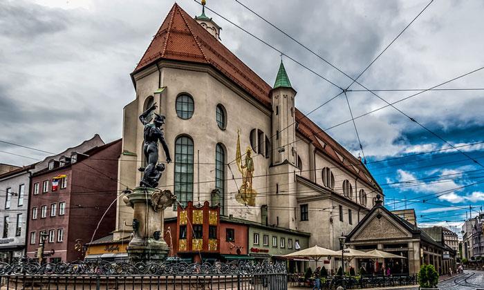 Церковь Святого Морица в Аугсбурге