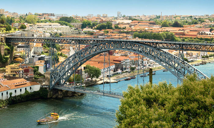 Мост Луиша I в Порту