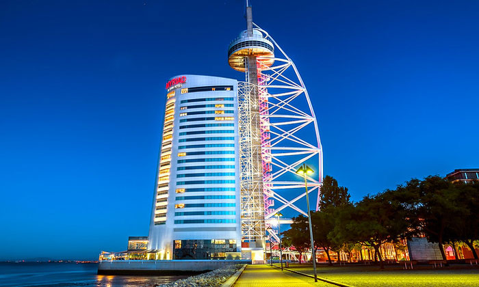 Небоскрёб (отель Myriad) Васко да Гама в Лиссабоне