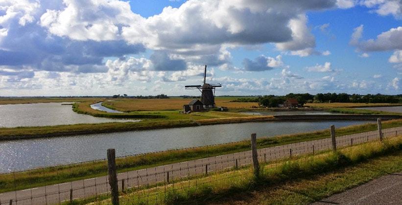 Остров Тессел в Нидерландах