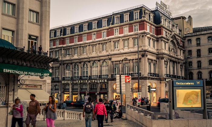 Отель Avenida Palace в Лиссабоне